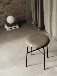 Afteroom stool, upholstered