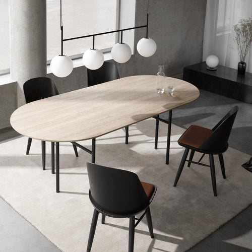 Snaregade Oval Table, Wooden tabletop