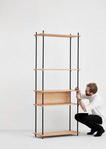 Shelving system - Tall - Single Bay