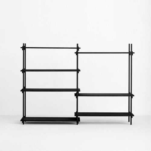 Shelving system - Medium - double Bay