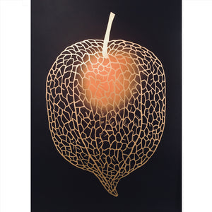 Monika Petersen Chinese Lantern Rust/Black