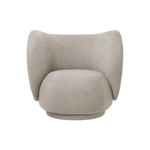 Rico Lounge chair, Brushed