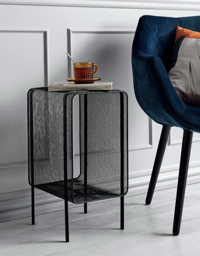 Side tables, iron