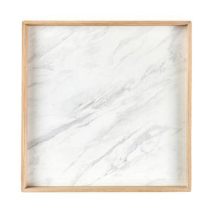 Bakke, oak w. white laminate