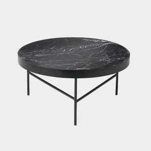 Marble Table - Black - Large