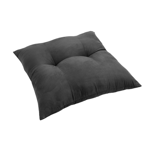 Zen floor cushion, dark grey-green