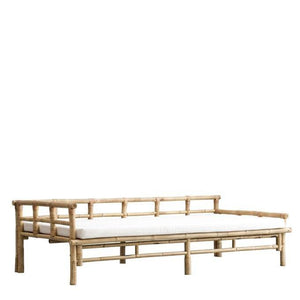 Mandisa Bambus/Canvas daybed, white