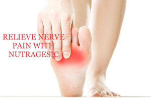 Nutragesic Nerve Health Nutritional Support Supplement for Peripheral Neuropathy and Nerve Pain