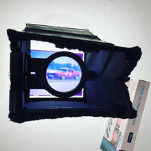 Load image into Gallery viewer, FLM-1 FLIP DOWN MAGNIFIER LOUPE GRAFLEX 3X4 AND 4X5 SLRs