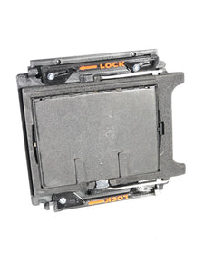 "GRAFLOK-44 3X4 TO 4x5 GRAFLEX SLR 4X4"" IMAGE GRAFLOK CONVERSION BACK"