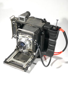 LEFT SIDE GRIP for Graflex  2x3 CENTURY AND PACEMAKER CROWN AND SPEED GRAPHIC PRESS CAMERAS