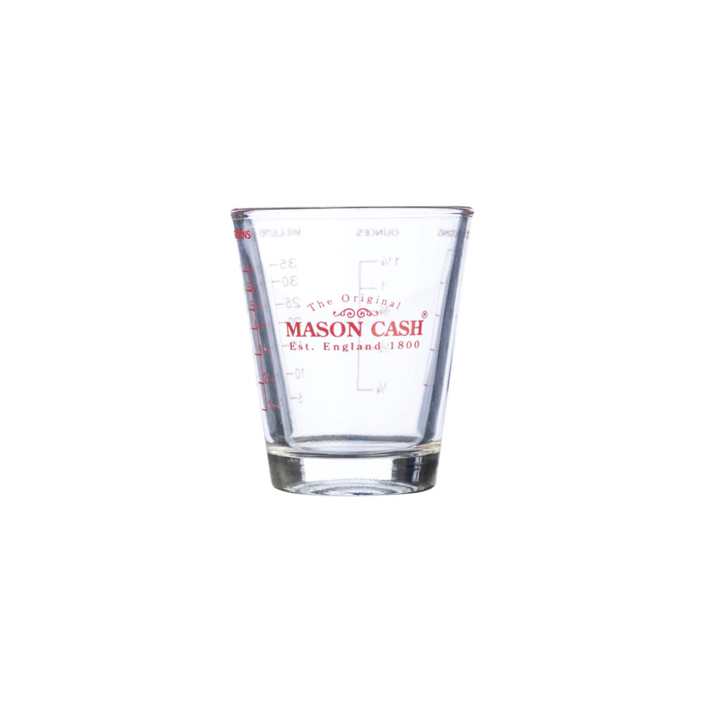 MASON CASH - Classic - Mini Messbecher aus Glas, 35 ml