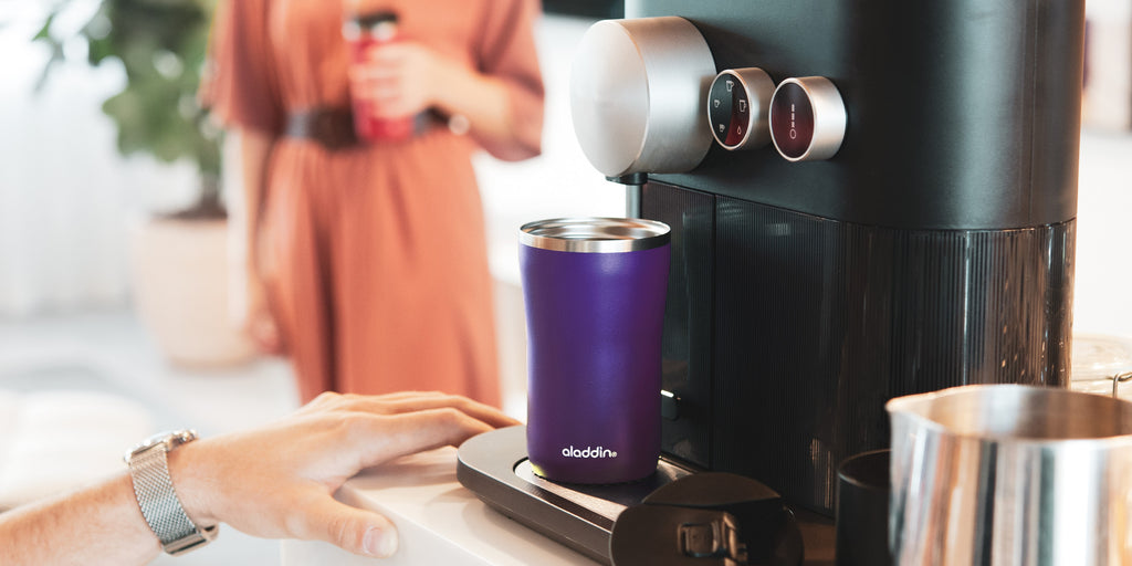 aladdin | Barista Coffee To Go Thermobecher, Violett-Lila, 3 Größen
