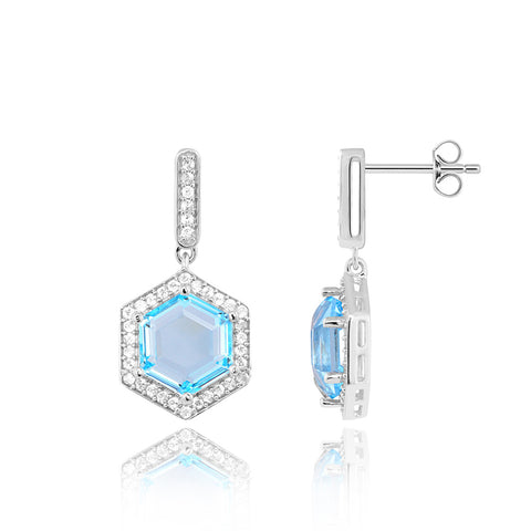 Sterling Silver Earrings For Women - Passionate Love Earrings