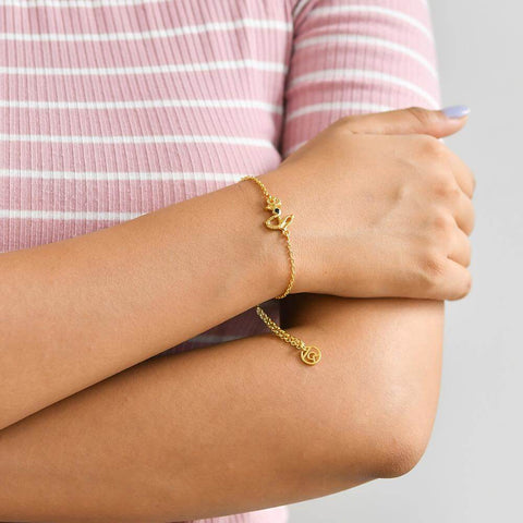 "Buy Symbol Bracelet | Anchor of my life Symbol Bracelet | ""9 to 9"" Office Wear 