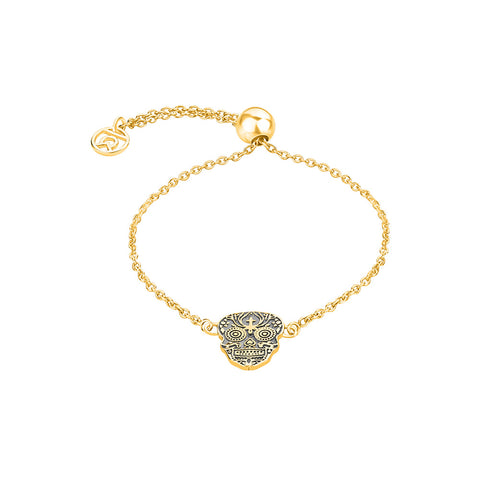 Shop Ancestoral Skull Symbol Bracelet For Women Online - Talisman World