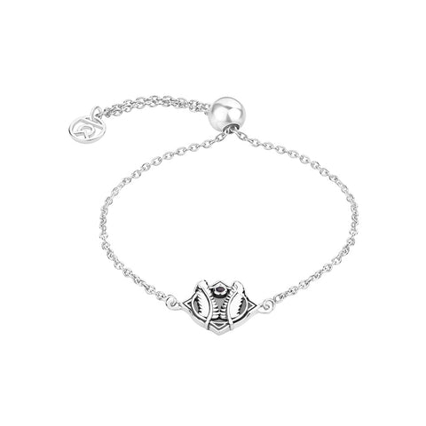 "Buy Silver Bracelet | Godspeed Symbol Bracelet | ""9 to 9"" Office Wear 