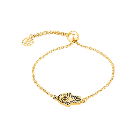 Bracelets For Ladies Online - Hand of Hamsa Symbol Bracelet