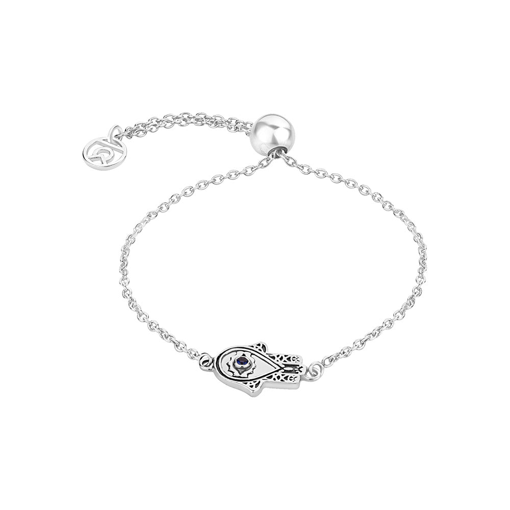 Bracelets For Women Online - Hand of Hamsa Symbol Bracelet