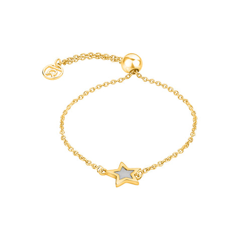 "Online Silver Bracelet | Guiding Star Symbol Bracelet | ""9 to 9"" Office Wear 