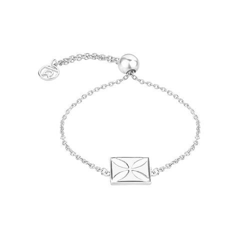 Temple Cross Symbol Bracelet