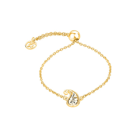 Latest Bracelets For Womens In India - Henna Motif Symbol Bracelet