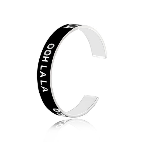 Shop for Hello, Vacay Eanamel Bangle on Talisman World Online At Best Price. Unique collection of Sterling Silver Bangles Online Only At Talisman World. Free Shipping & COD Available.