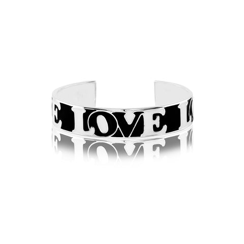 Shop for Modern Love Icon Enamel Bangle on Talisman World Online At Best Price. Unique collection of Sterling Silver Bangles Online Only At Talisman World. Free Shipping & COD Available.