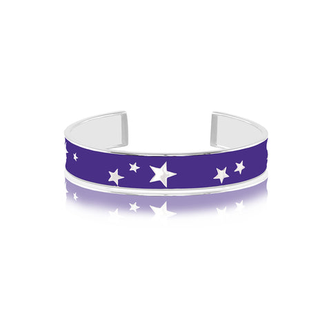 Shop for Starry Night Enamel Bangle on Talisman World Online At Best Price. Unique collection of Sterling Silver Bangles Online Only At Talisman World. Free Shipping & COD Available.