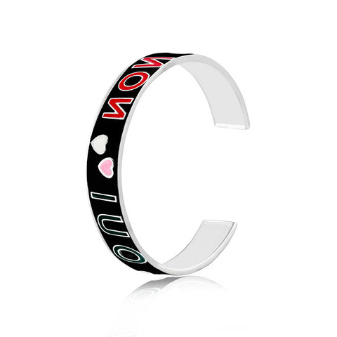 Shop for He Loves Me Enamel Bangle on Talisman World Online At Best Price. Unique collection of Sterling Silver Bangles Online Only At Talisman World. Free Shipping & COD Available.