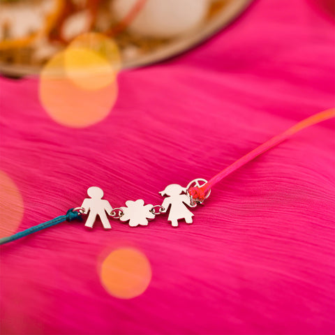 Shop The bond of memories Silver Rakhi on Talisman World Online At Best Price. Unique collection of sterling silver rakhi online india Only At Talisman World. Free Shipping & COD Available.