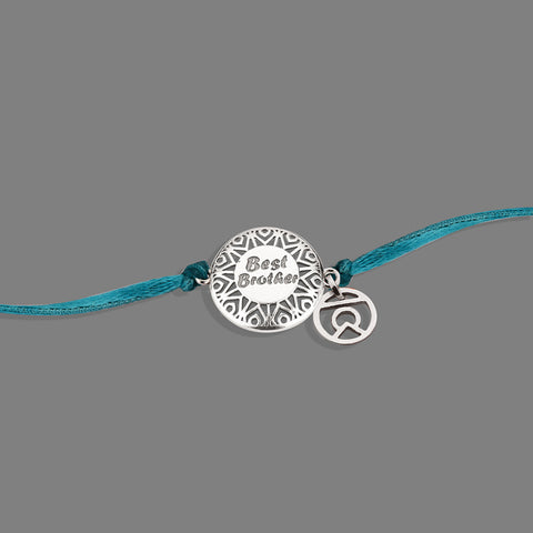 silver rakhi online shopping,silver rakhi bracelet for brother online,buy silver rakhi online india