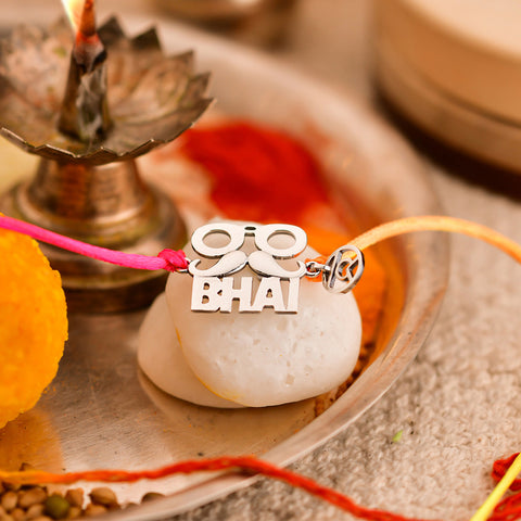 Shop for Stylish Bhai Silver Rakhi on Talisman World Online At Best Price. Unique collection of Sterling Silver Bangles Online Only At Talisman World. Free Shipping & COD Available.