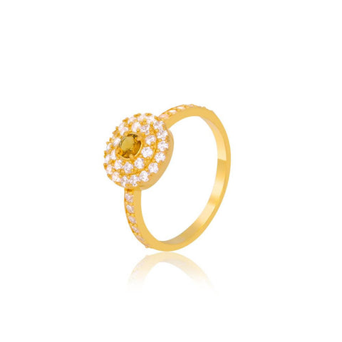 "Shop Rings Online | Citrine Elegance Ring | ""9 to 9"" Office Wear 