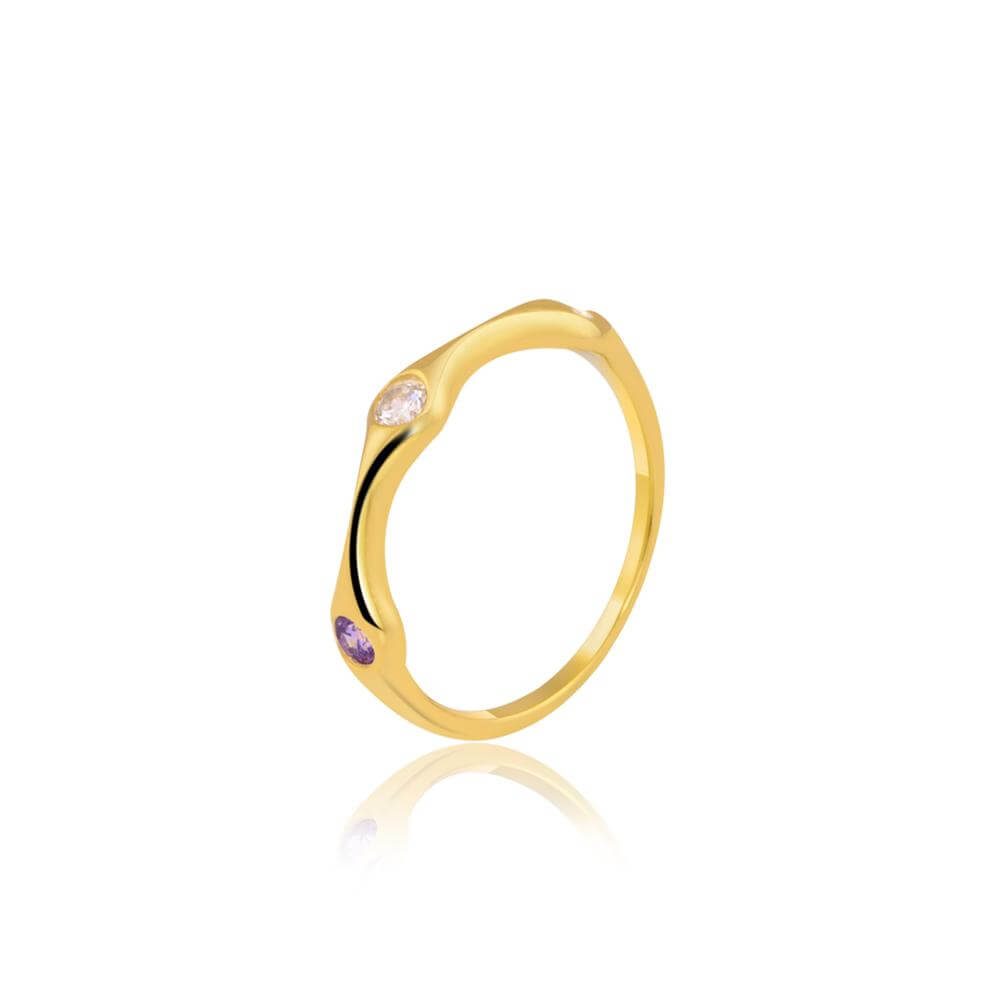 "Stack Ring Online | Colour Trio Stack Ring | ""9 to 9"" Office Wear 