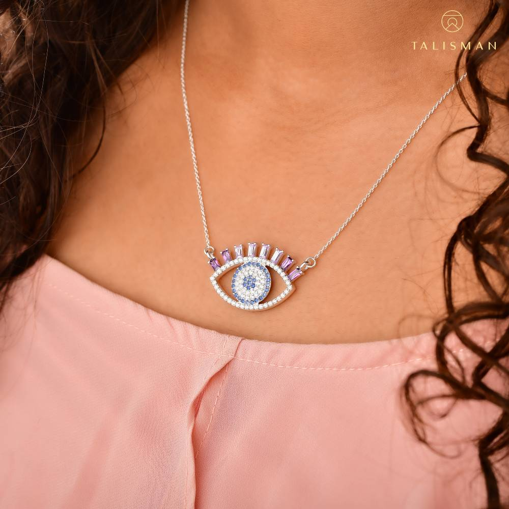 Fearless Evil Eye Necklace