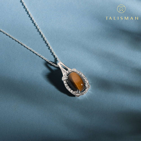 Necklace Latest Design | Glistening Oval Drop Necklace | Necklace | TALISMAN
