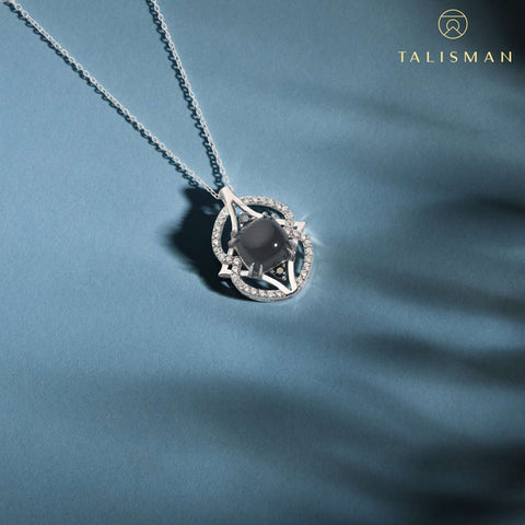 Buy Necklace Jewelry | Dainty Luminious Royal Necklace | Necklace | TALISMAN