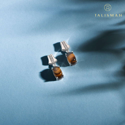 Earrings Online Shopping | Splendid Gold Drop Earrings | Earrings | TALISMAN