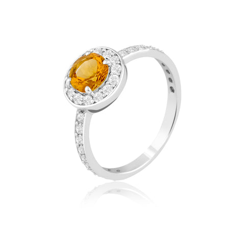 "Rings Online | Citrine Celebration Ring | ""9 to 9"" Office Wear 