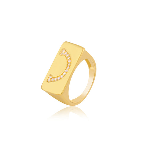 Smiley Sparkle Ring