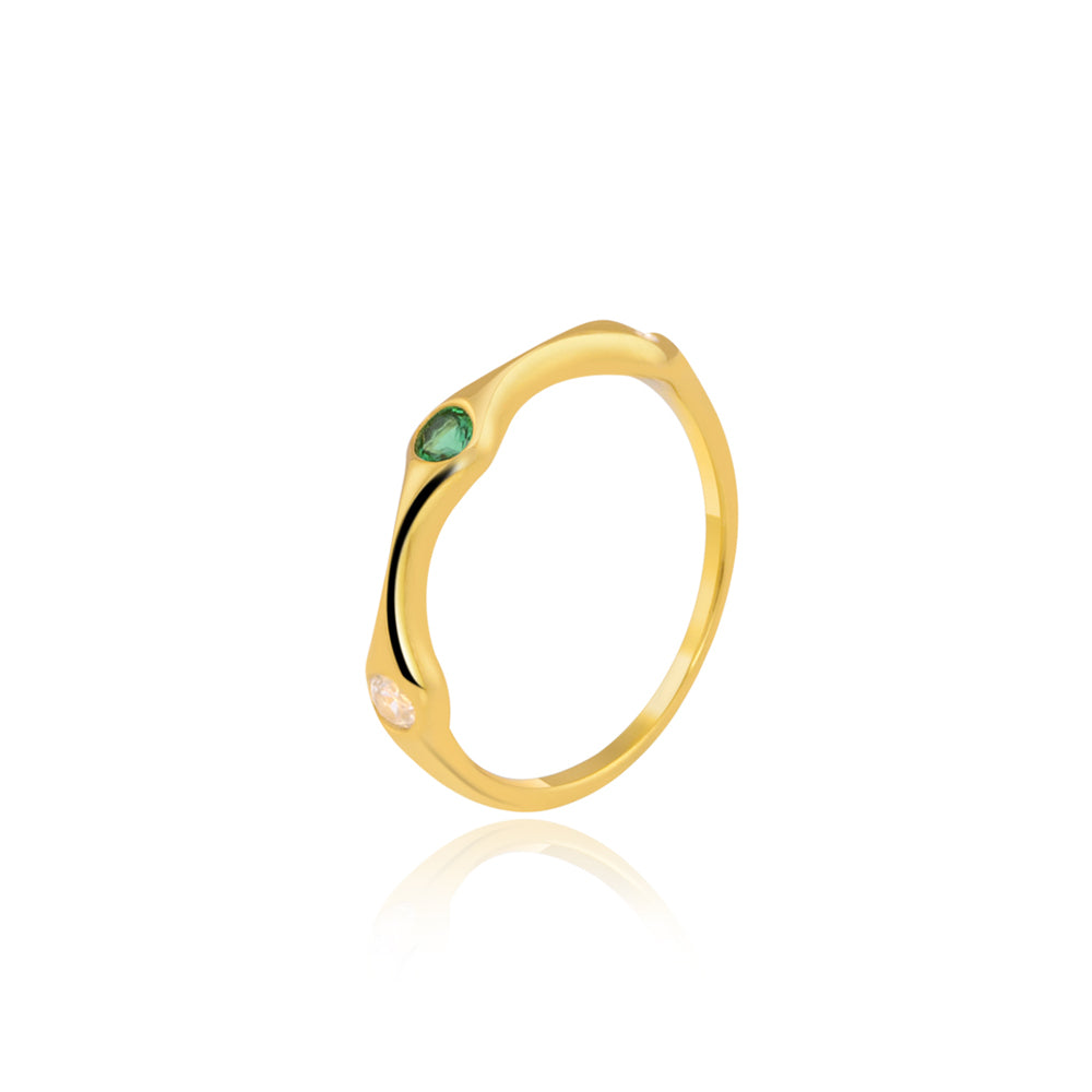 "Buy Stack Ring Online | Dual Colour Stack Ring | ""9 to 9"" Office Wear 