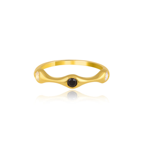 "Best Stack Rings | Yin and Yang Stack Ring | ""9 to 9"" Office Wear 