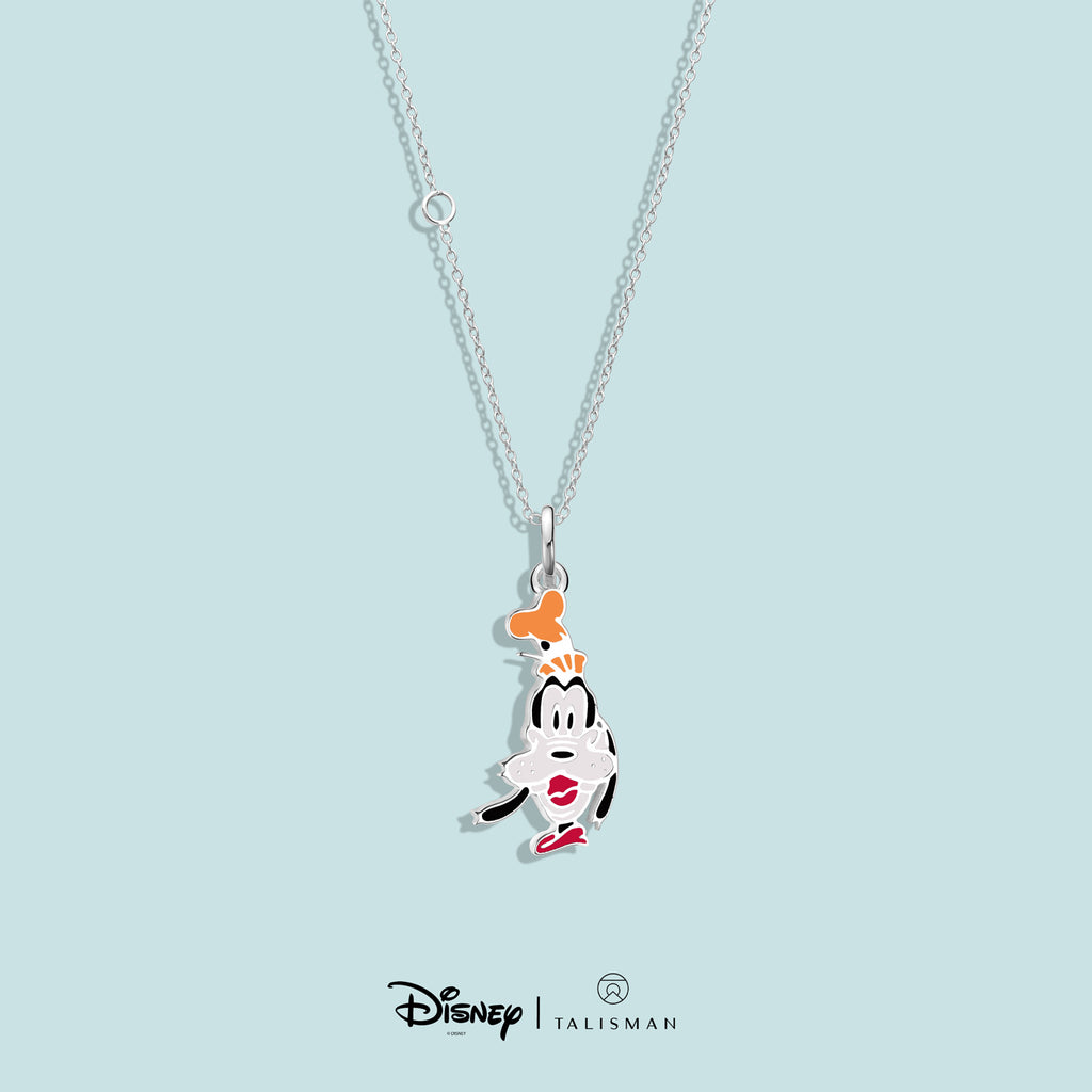 Necklace | Cheerful Goofy Necklace Disney | TALISMAN