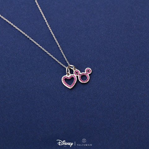 Disney | TALISMAN Enchanted Red Heart Necklace