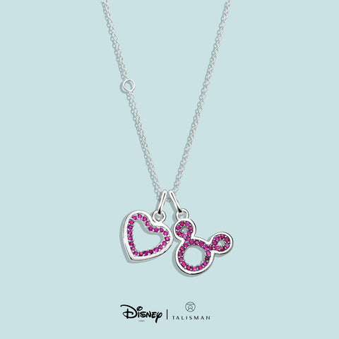 Necklace | Enchanted Red Heart Necklace | Disney | TALISMAN