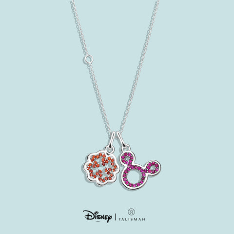 Necklace | Four Clover Leaf Necklace Disney | TALISMAN