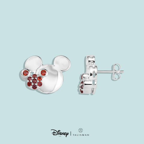 Disney | TALISMAN Mickey Mouse Colour Me Red Earrings