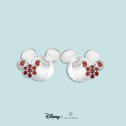 Online Earrings | Mickey Mouse Colour Me Red Earrings | Disney | TALISMAN