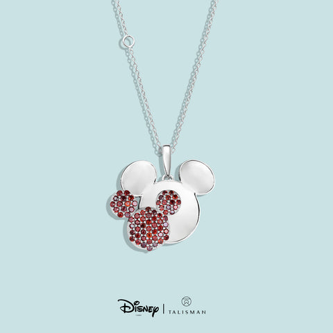 Necklace | Mickey Mouse Colour Me Red Necklace | Disney | TALISMAN